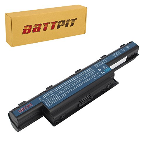 Battpit™ Laptop/Notebook Battery for Acer Aspire E1-772G 54208G1TMnsk Aspire E1-771G Aspire E1-771-6496 Aspire E1-772 Aspire E1-771-6458 Aspire E1-772G (6600mAh/71Wh) by Battpit®
