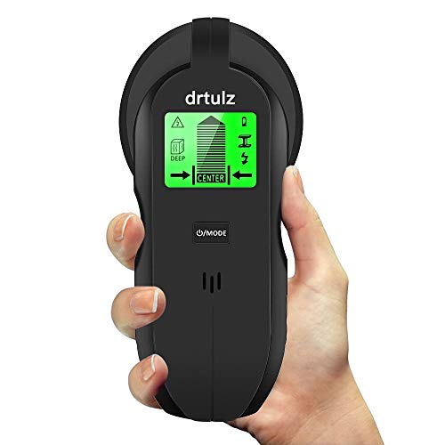Electric Stud Finder - 4 in 1 Multi Function Scanning Wall Sensor Center Finding With Sound Warning For Wood Stud/AC Wire/Metal Detector