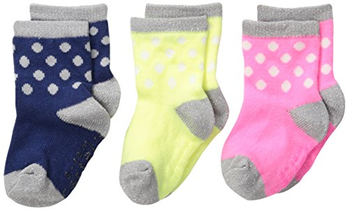 - Carter's Baby-Girls Newborn 3 Pack Holiday Dot Socks, Multi, 3-12 Months