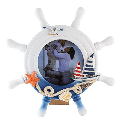 ships wheel picture frame - 7