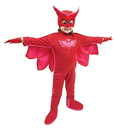 Giochi Preziosi - Super pigiamini PJ MASKS disfraz Carnaval gufetta, talla 3/4 años 3/4 anni: Amazon.es: Juguetes y juegos