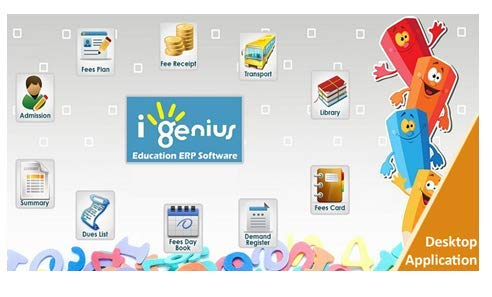I-Genius ERP Software For School Management 5-6MB