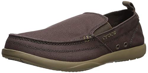 Crocs Men's Walu Loafer, Espresso/Walnut, 11 M ()