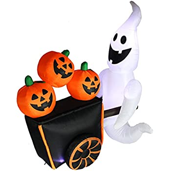 Amazon.com: 8.5 Foot Halloween Inflatable Haunted House