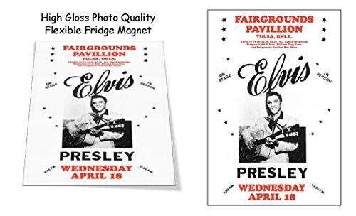 (Elvis 1956 Tulsa Oklahoma Concert Poster 3