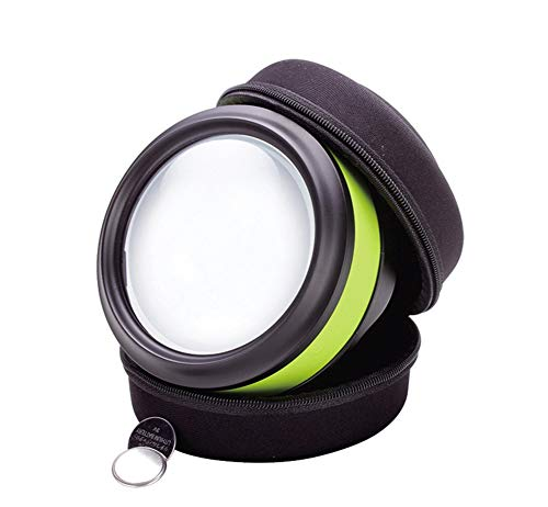 Acrylic Shape Paperweight (Magnifying Glass With Light For Reading Paperweight Handheld Magnifier Lens For Seniors, Low Vision, Books,newspapers & Maps)