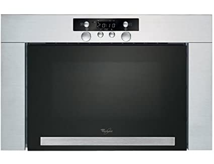 Whirlpool AMW 422 IX horno microondas clásica intégrable 22 L, 750 W, acero inoxidable