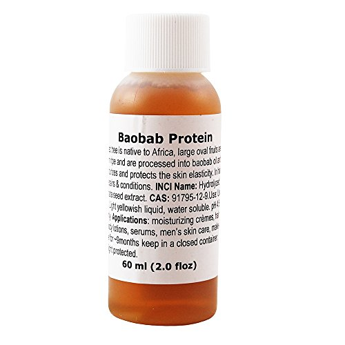MakingCosmetics - Baobab Protein, Hydrolyzed, ECOCERT Approved - 2.0floz / 60ml - Cosmetic Ingredient