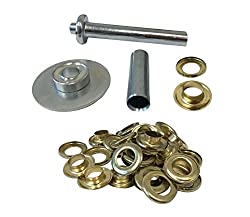 Tarp Grommet Installation Tool with Grommets (30 Grommets Included)