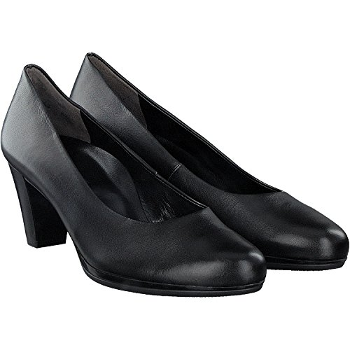 Paul Green Women's 3216-049 Court Shoes Black Z1WVAo