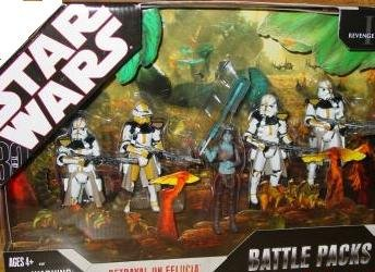 Star Wars 2007 Exclusive 30th Anniversary Betrayal on Felucia 5 Figure Battlepack