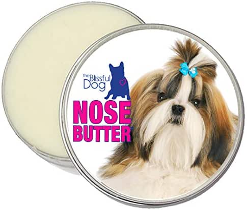 The Blissful Dog Shih Tzu Unscented Nose Butter, 2-Ounce