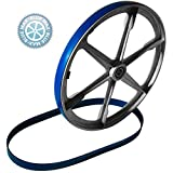 2 BLUE MAX URETHANE BAND SAW TIRES FOR DELTA MODEL 28-245 BAND SAW 2 TIRE SET