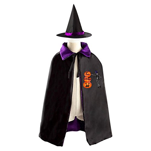 Halloween Pickup Skeleton Decoration Props Witch Wizard Cloak Dress Suit - Bam Bam Costumes Toddler