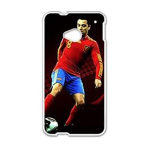 ORIGINE Soccer FC Barcelona Hernandez Fc BarAIA White Phone Case for HTC One M7