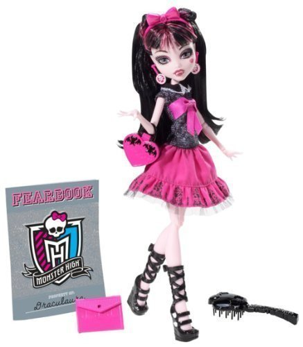 Monster High Picture Day Draculaura Doll Children, Kids, Game by Avner-Toys (Draculaura Picture Day)