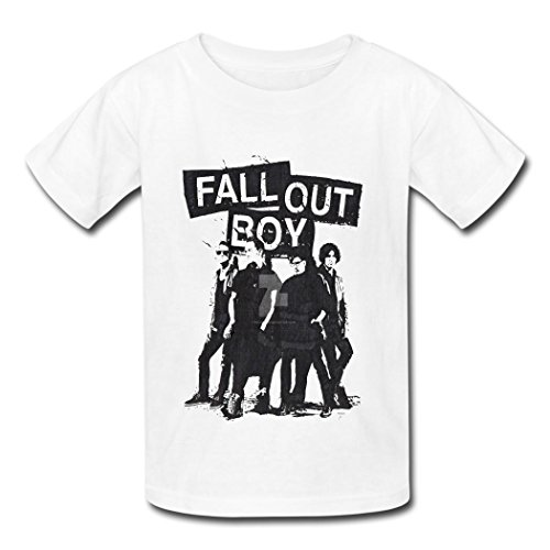 - TOGEB Fall Out Boy 2016 children Short T-shirt kid T-Shirts White S