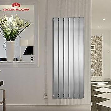 ZYT 1200 x 452 Hotel toalleros. radiadores verticales. radiador. cromado con AF-