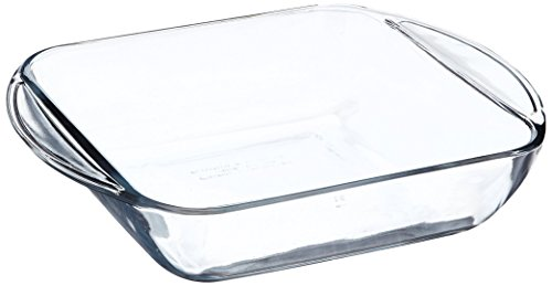 Fire Casserole King Hocking Anchor (Anchor Hocking 77887 Fire-King Square Cake Dish, Glass, 8-Inch)