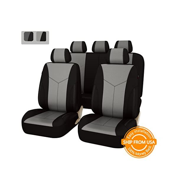 CAR PASS Universal Seat Covers Set