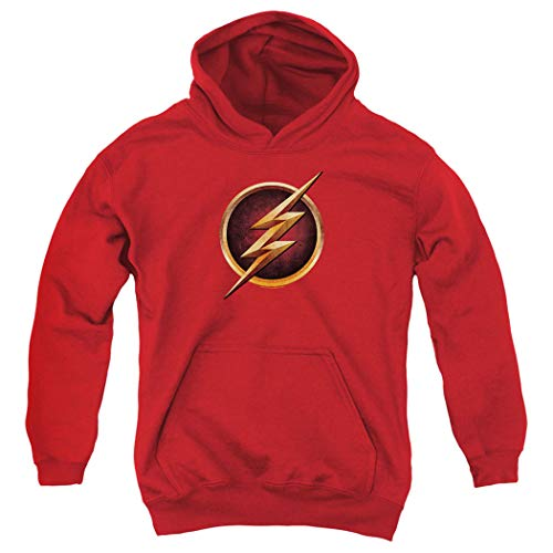 The Flash TV Series Logo Kids Youth Pullover Hoodie & tickers -