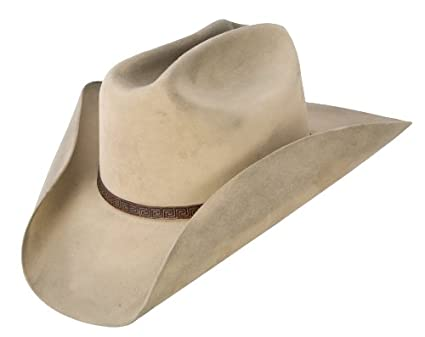 Amazon.com  Stetson s Distressed Silver Belly Felt Hat  Clothing cf6ebeb2e50