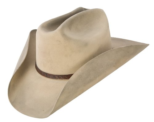 Silver Belly Felt Hat - Stetson's Distressed Silver Belly Felt Hat - Size 7 1/4