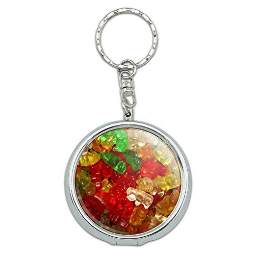 Portable Travel Size Pocket Purse Ashtray Keychain Food Drink Bacon Coffee - Gummy Gummi Bears]()