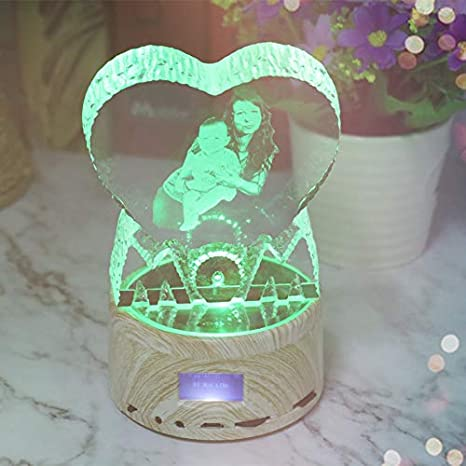 Amazon.com: Fotos Nocturna Luz Personalizada Bluetooth Led ...