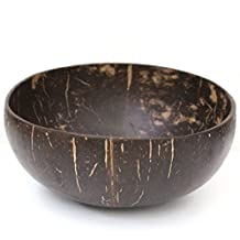 Organic Coconut Bowls (Set of 2) - Reclaimed Coconut Shells