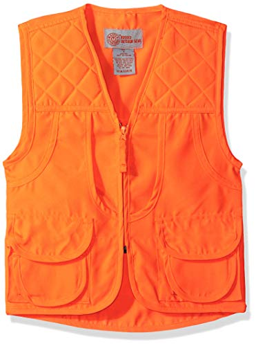 Master Sportsman Youth BLZ Front Load Game Fishing Vest (Large) (Best Orange Hunting Vest)