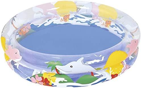 Bestway - Delfines, Piscina Hinchable, 91 x 20 cm (51012000 ...