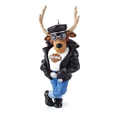 Reindeer Rider - Harley-Davidson 2013 Hallmark Ornament
