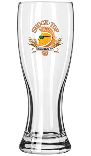 Shock Top Brewing Company 16oz Pilsner Beer Glass by ()