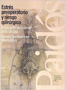 Book Estres Preoperatorio y Riesgo Quiru / Love in Times of Loneliness (Spanish Edition)