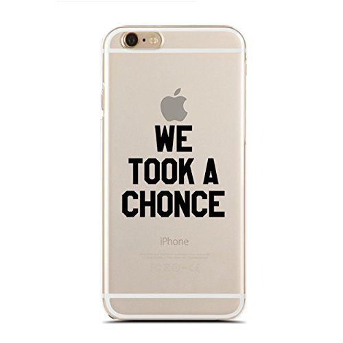 Clear Snap-On case for iPhone 5/5S - We Took A Chonce - What The Fuck Is A Chonce - Funny British Accent (C) Andre Gift Shop