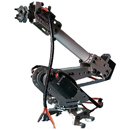 Goodport - ロボット工学Arduino DIYキット用サーボ付き6DOFメカニカルロボットアーム爪 (6DOF Mechanical Robot Arm Claw With Servos For Robotics Arduino DIY Kit)