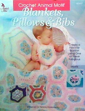 Motifs Bib (Crochet Animal Motif Blankets, Pillows & Bibs)