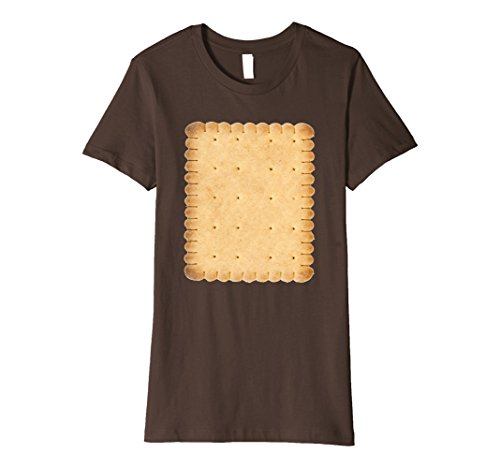 Smores Family Costume (Womens Smores Cracker Matching Halloween Costume Shirt Medium Brown)