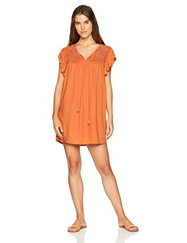 Wild Oasis Beachwear Women's Beachwear Swimwear Chrochet Yoke Cover Up