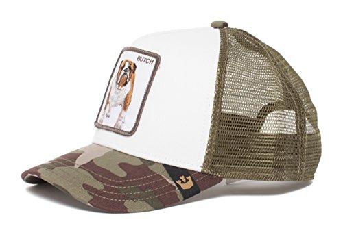 Goorin Bros. Animal Farm 'Butch' Bulldog Snapback Trucker Hat Camouflage