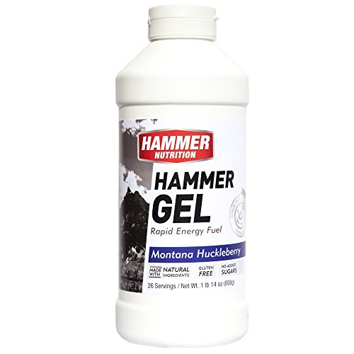 Hammer Gel Jug for 26-Serving, Montana Huckleberry