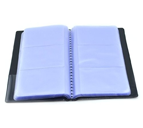 SAMYO Business Journal Name Card Book Holder for Storage Organizied Name Cards -Holds 180 ()