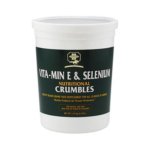 Farnam Vita-Min E & Selenium Antioxidant Supplement, 2.5 lbs, 2 Pack