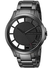 Armani Exchange Men's AX2188 Smart Watch Analog Display Analog Quartz Grey Watch
