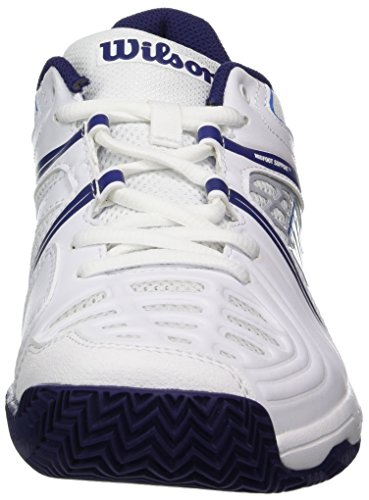 41 Shoes 7 Vision EU Tour Blue UK Women Aura White Wilson Tennis W Astral White V Pearl nHSZp4qxw