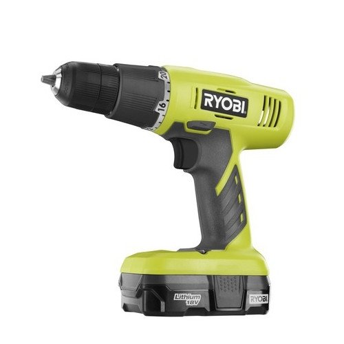Ryobi ZRP1810 18V One Plus Cordless Lithium-Ion 3 8 in. Starter Drill Driver Kit Renewed