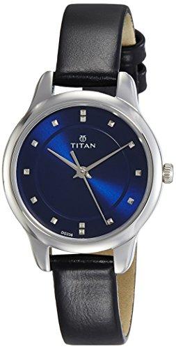 Titan Ladies Neo – Ii Analog Blue Dial Women's Watch NM2481SL08/NN2481SL08