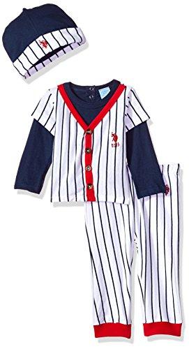 U.S. Polo Assn. Baby Boys T-Shirt, Accessory and Pant Set Pants