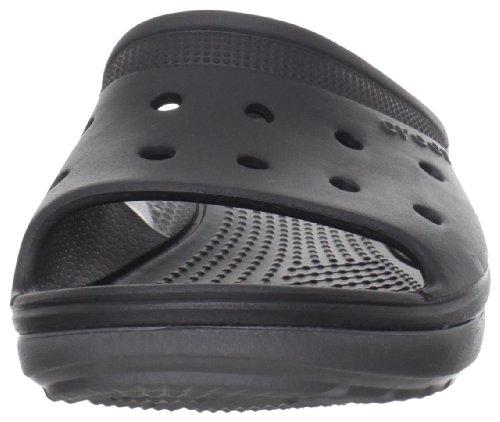 Crocs Unisex Duet Scutes Slide Black / Graphite